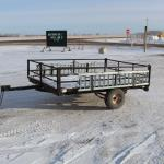 Picture: Homemade Utility Trailer w/Ramps