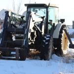Picture: Lamborghini Tractor with Allied loader