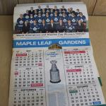 Lot A ; Toront maple Leafs World Champions & Stanley Cup Winners  1966/1967