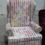 Hiback Queen Ann chair