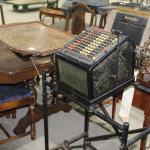 Burroughs Antique Glass case Calculator