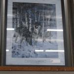 Wolf Print / Larry Fanning