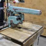 Dewalt AMF Power Shop Radial Arm saw