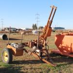 Hydraulic PTO drive post pounder