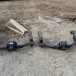 (2) GMC tow hitches