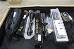 Assorted Rifle scopes ,spotting scopes , trail cameras