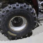 Bear Claw Tires on Honda Fourtrax