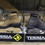 NEW Terra Boot 8 1/2 tan and 8 Brown