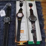 (1) Nagano 1998 Olimpic watch , (1) Altanta 1996 Olimpic watch , (1) Quartz watch