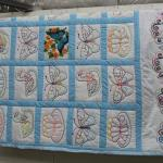 Hand Stitched Coverlet