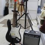 Fender Squire Strat Guitar and Amp.
