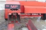MF 128 square baler