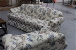 Floral Couch and arm chair