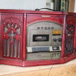 Reproduction Radio and tape player