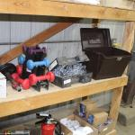 Exercise weights /Quad chains /storage box