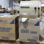 Toilet paper / paper towels / towel dispensers
