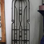 triple panel lattice / tea light stand