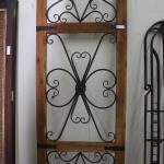 Cedar frame lattice