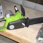 Greenworks electric Chain saw