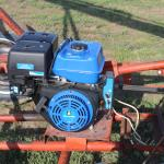 Electric Start Power Fist Motor on Auger