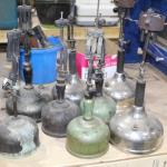 Antique Gas Lamps