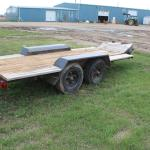 Shop Built Tandem trailer