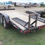 20' equipment trailer