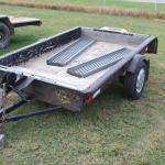 5x7 utility trailer / no vin.
