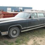 1974 Lincoln Town car